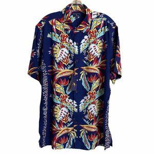 Margaritaville Hawaiian Shirt Mens Size Large NWT